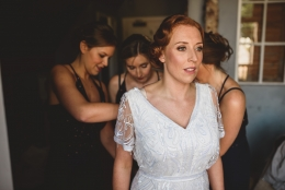 Liz, The Bell At Ticehurst Wedding makeup